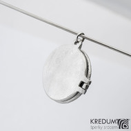 Unitae ring - Damasteel otevírací medailon - produkt SK1473
