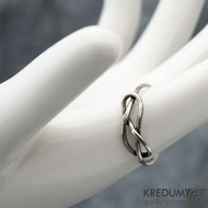 Uzel Patina - Stříbrný prsten, SK1589