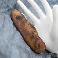 Švestková - Ručně vyrobená dřevěná spona, SK1511