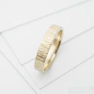 wood snubní prsten gold yellow (5)