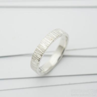 wood snubní prsten stříbro (4)