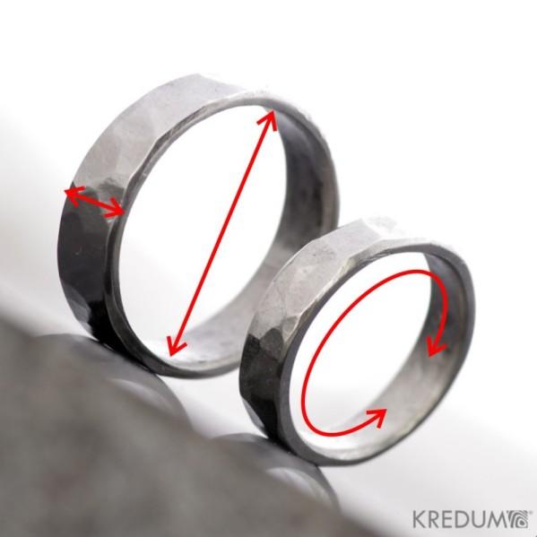 Zkušební prsten - měrka na míru