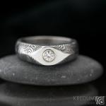 s1348 prsten Grada Moissanite
