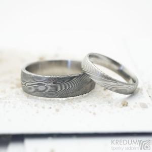 prsten Prima - hladký povrch